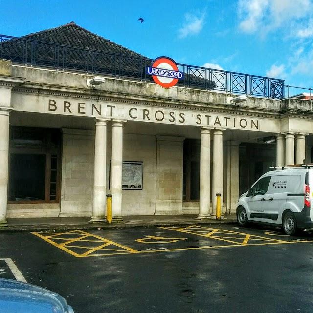 Brent Cross London Underground Station