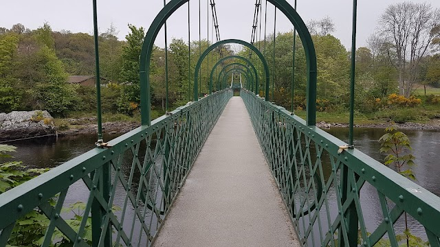 Iron Suspension Bridge