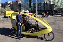 hamburg by rickshaw, Hamburg, Germany