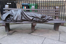 Homeless Jesus Statue, Glasgow, United Kingdom
