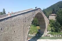 Ponte Alidosi (ponte rinascimentale a Schiena d'Asino), Castel del Rio, Italy