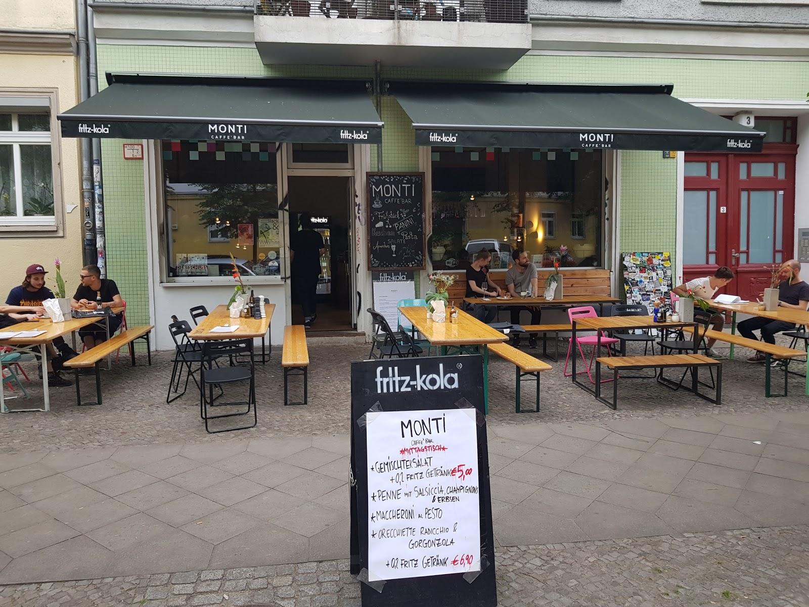 MONTI Caffe' BAR: A Work-Friendly Place in Berlin