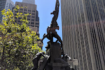 The Mechanics Monument, San Francisco, United States