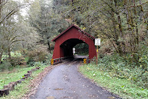 North Fork Yachats Covered Bridge, Yachats, United States