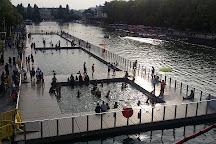 Bassin de la Villette, Paris, France