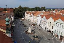 Masaryk Square, Trebon, Czech Republic