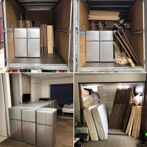板橋区板橋 冷蔵庫、ベッド運搬