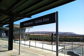 Железнодорожная станция  Antequera Santa Ana