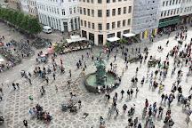 Stork Fountain, Copenhagen, Denmark