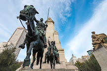 Monumento Cervantes, Madrid, Spain
