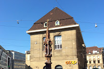Fischmarktbrunnen, Basel, Switzerland