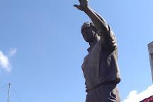 Statue of George W. Bush, Fushe Kruje, Albania