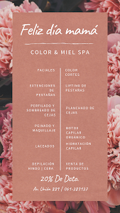 Color y Miel Spa 1