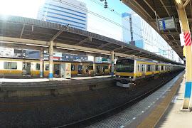 Железнодорожная станция  Funabashi