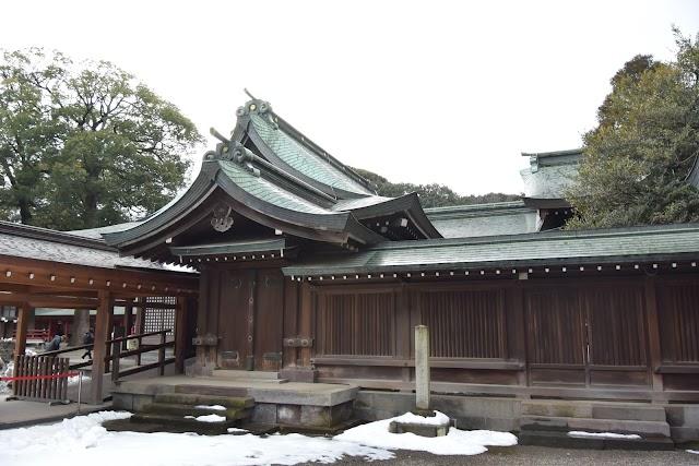 Hikawa Shrine Haiden