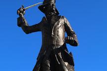 General Wolfe Statue, Westerham, United Kingdom