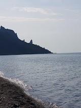 Веселовський дикий пляж, село Веселе недалеко від Судака