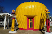 Shell-shaped Gas Station, Winston Salem, United States