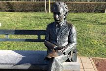 Albert Einstein Statue, De Haan, Belgium