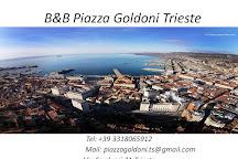 Piazza Goldoni, Trieste, Italy