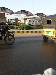 Star Gate Bus Stop karachi Shahrah-e-Faisal
