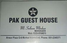 Pak Guest House islamabad
