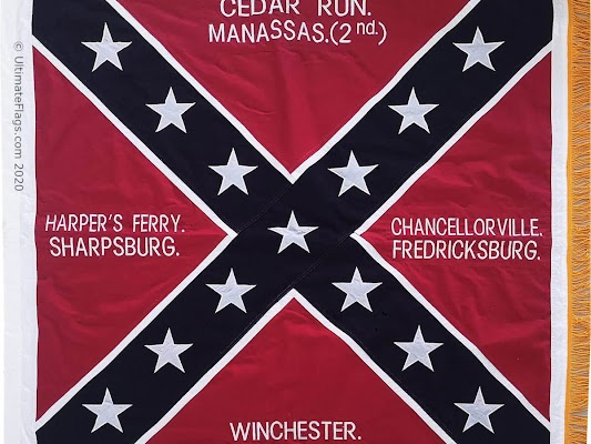 This is an image of a rebel flag