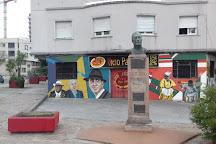 Monumento a Carlos Gardel,, Montevideo, Uruguay