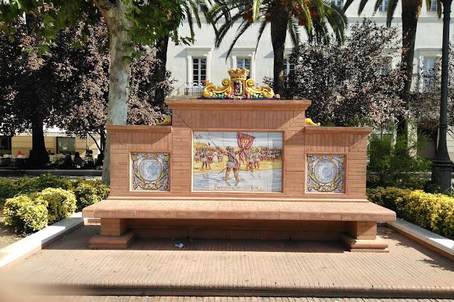 Plaza de San Francisco, Badajoz, Spain