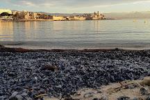 Plage du Ponteil, Antibes, France
