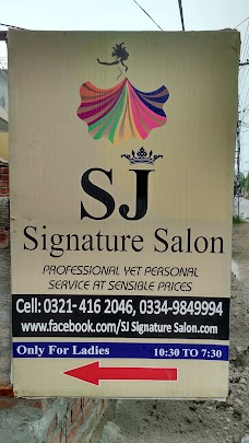 SJ Salon lahore