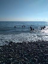 Пляж Шексна в Вардане