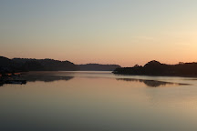 Lake Kitagata, Awara, Japan