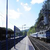 Железнодорожная станция  Szklarska Poreba Gorna