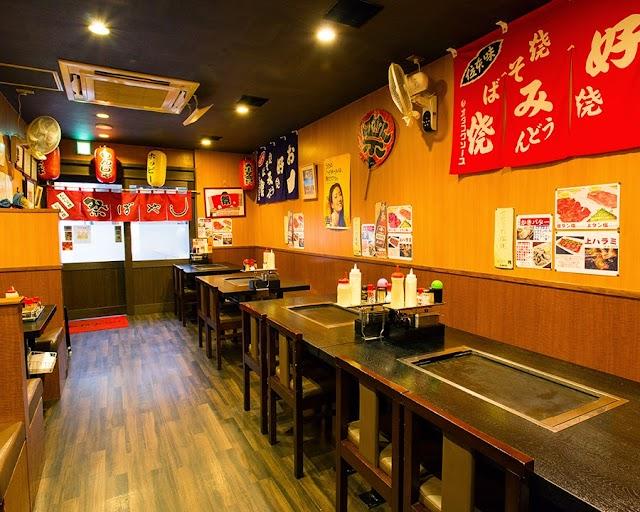 Asakusa Okonomiyaki Monja Festival Bayashi