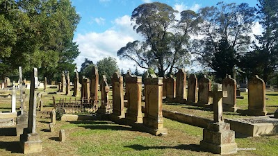 St Patricks Catholic Church and cemetery
