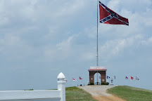 Parks Cemetery Ridge Confederate Memorial Plaza, Trimble, United States