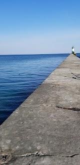 Пляж Рыбный Порт Черноморск