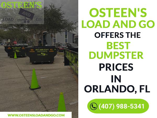 Dumpster Rental Orlando FL - Osteen