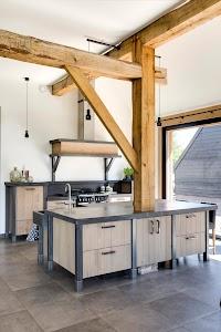 Eco Keukens, massief houten keukens
