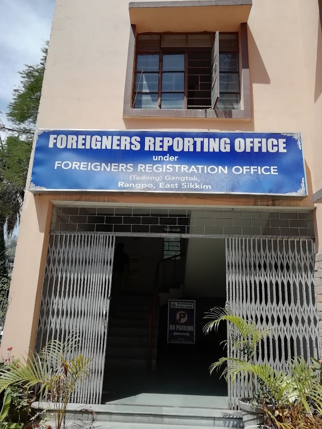 Foreigner Reporting Office (FRO) East Sikkim