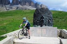 Monumento a Fausto Coppi, Canazei, Italy