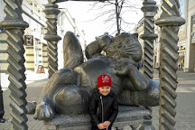 Monument Cat Kazan, Kazan, Russia
