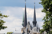 Notre Dame Cathedral (Cathedrale Notre Dame), Luxembourg City, Luxembourg