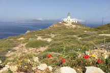 Armenistis Lighthouse, Faros Armenistis, Greece