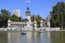 Retiro Park (Parque del Retiro), Madrid, Spain