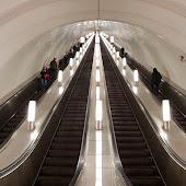 Станция метро  станции  Saint Petersburg