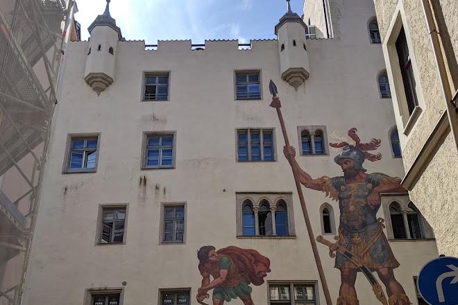 Goliathhaus, Regensburg, Germany