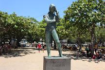 Estátua de Frédéric Chopin, Rio de Janeiro, Brazil