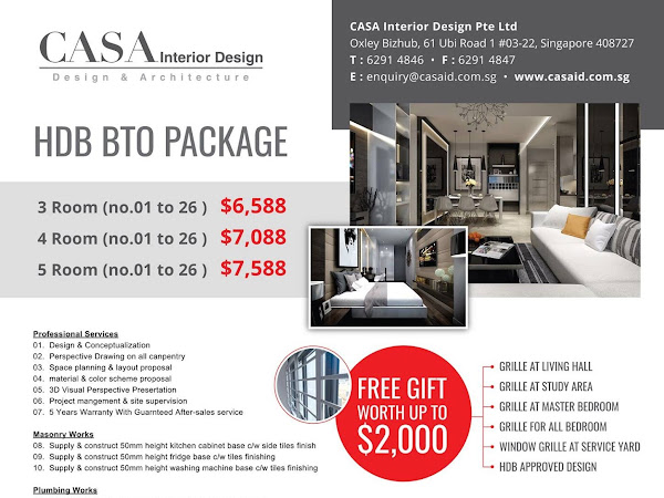 Casa Interior Design Pte Ltd Renovation Singapore Interior Design